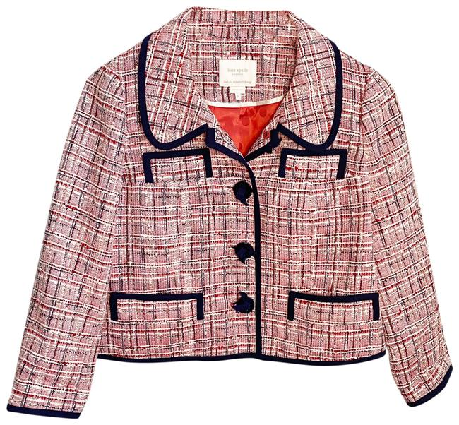 Item - Pink Tweed Jacket Size 6 (S)