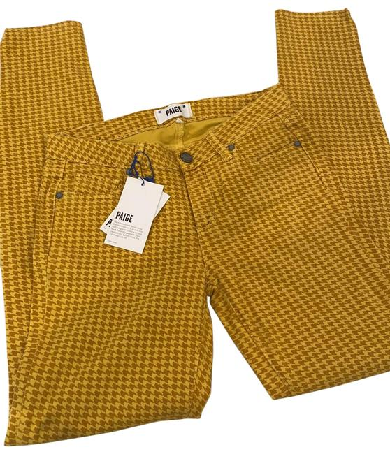 Item - Yellow & Gold Verdugo Ultra Skinny Jeans Size 4 (S, 27)