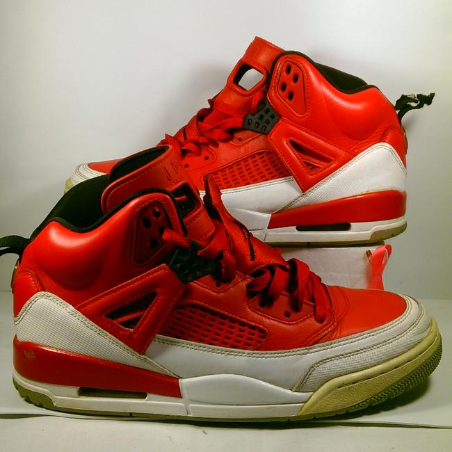 "Item - Red W/White and Black Accents Spizike ""Mars Blackmon"" Basketball Sneaker 11m Shoes"