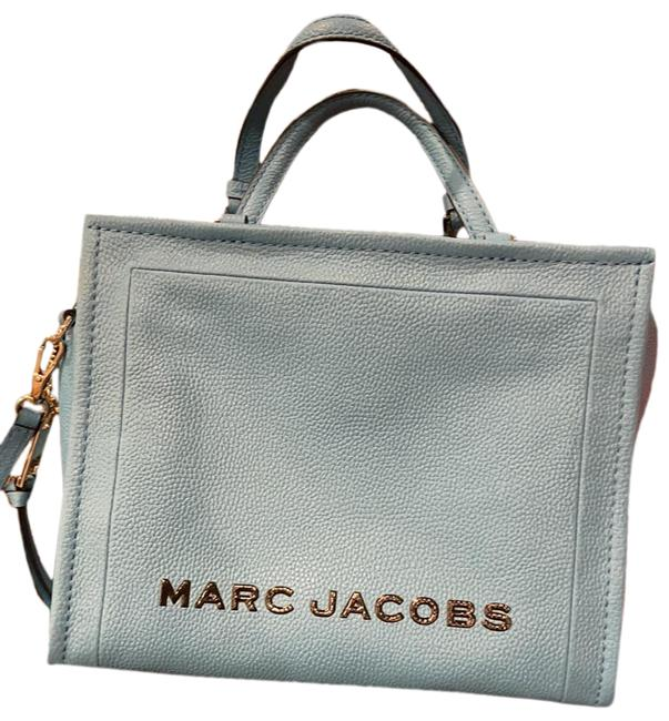 Marc Jacobs Soft Light Blue Leather Cross Body Bag Marc Jacobs Soft Light Blue Leather Cross Body Bag Image 1