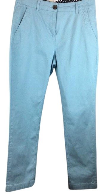 Item - Blue Casual Cotton Pants Size 6 (S, 28)