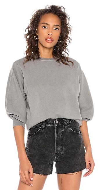 Item - Zinc Grey Thora Balloon Sleeve Sweatshirt/Hoodie Size 4 (S)