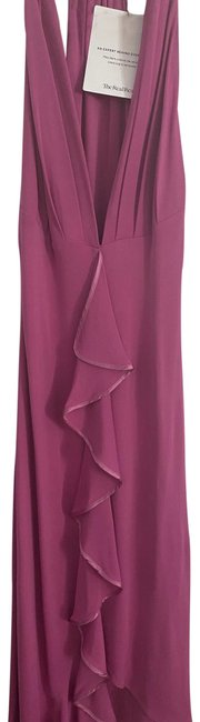 Item - Hot Pink Mid-length Cocktail Dress Size 4 (S)