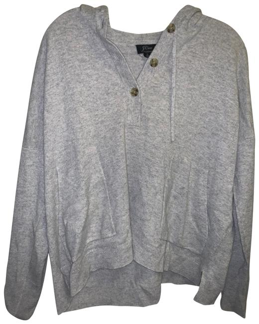 Item - Cashmere Gray White Sweater