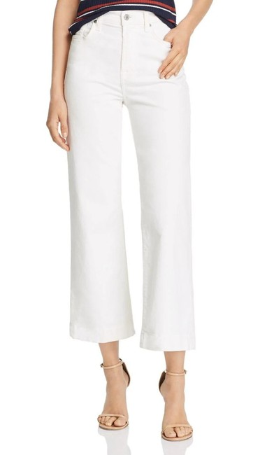 7 For All Mankind Ivory Alexa Corduroy High Waist Crop Style No. Au8390253 Pants Size 14 (L, 34) 7 For All Mankind Ivory Alexa Corduroy High Waist Crop Style No. Au8390253 Pants Size 14 (L, 34) Image 1