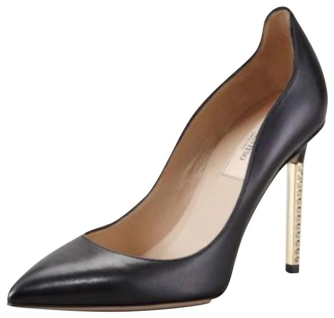 Item - Black Extreme Heel Nappa Leather / Pumps Size US 9 Regular (M, B)