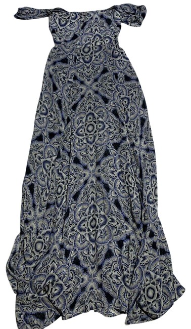 Item - Blue Annora In Us Long Formal Dress Size 6 (S)