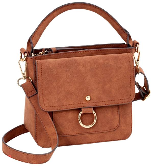 Item - Emma Brown Faux Leather Cross Body Bag