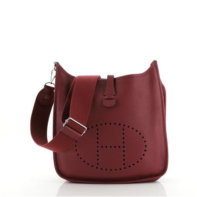 Item - Evelyne Gen Iii Clemence Pm Red Leather Cross Body Bag
