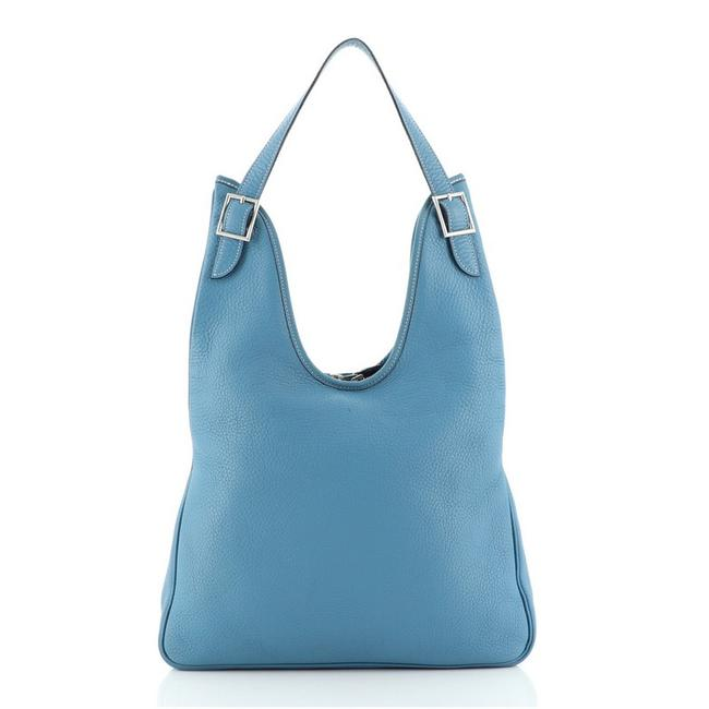 Item - Massai 32 Blue Leather Hobo Bag