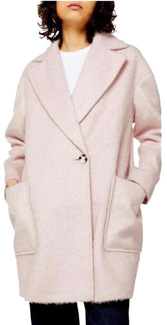 Item - Pink Carly Long Coat Size 6 (S)