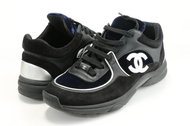 Item - Blue/Black Cc Race Runner Sneakers Trainers Shoes