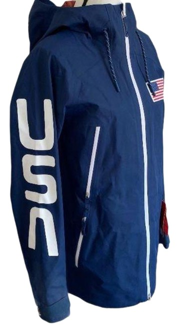 Item - Blue Red Nfoa31a3 Fuse Jacket Independence Activewear Size 8 (M)