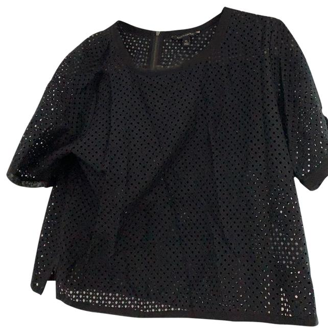 Item - Black Unknown Blouse Size 16 (XL, Plus 0x)