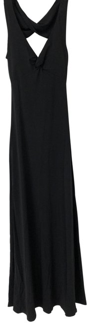 Item - Black Open Long Casual Maxi Dress Size 0 (XS)