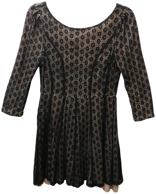 Item - Black None Short Casual Dress Size 8 (M)