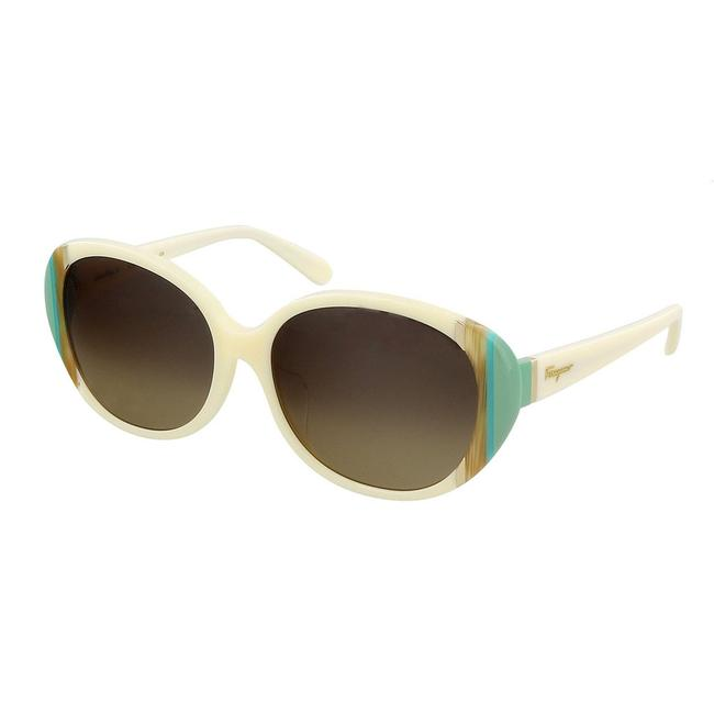 Item - Ivory Oval Sunglasses