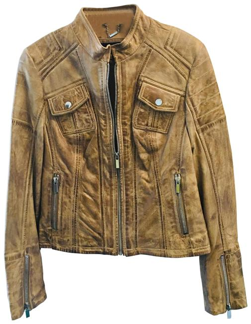 Item - Tan N Mint Condition Jacket Size 6 (S)
