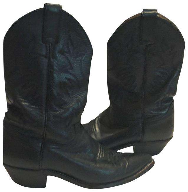Justin Boots Black Boots/Booties Size US 8.5 Regular (M, B) Justin Boots Black Boots/Booties Size US 8.5 Regular (M, B) Image 1