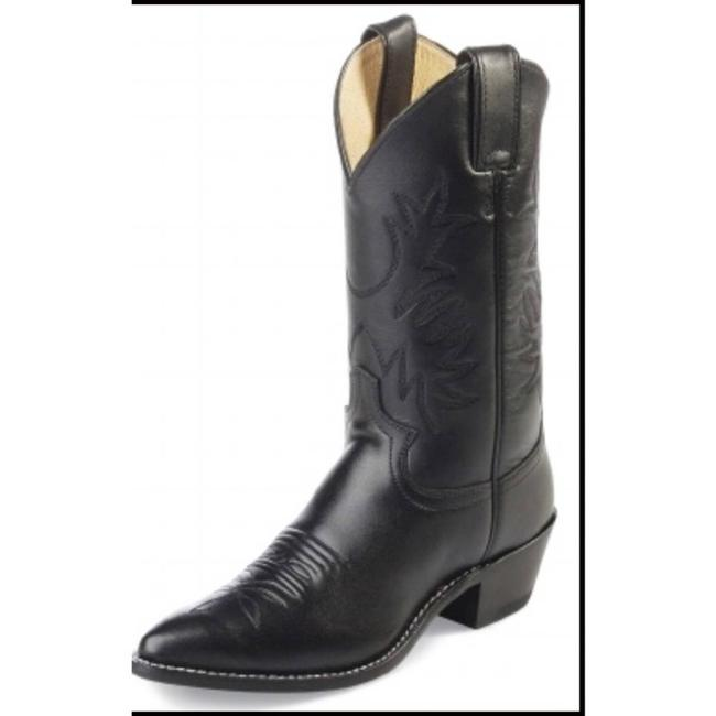 Justin Boots Black Boots/Booties Size US 8.5 Regular (M, B) Justin Boots Black Boots/Booties Size US 8.5 Regular (M, B) Image 2