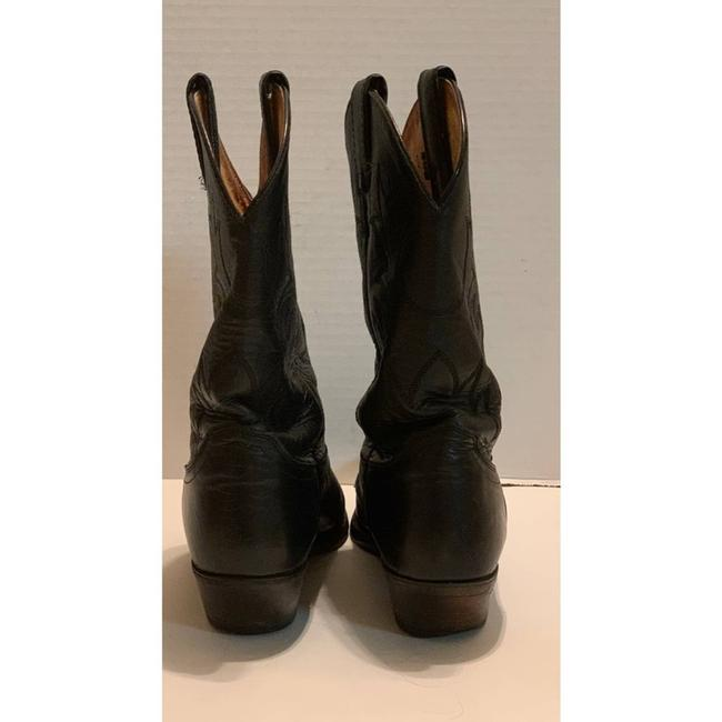Justin Boots Black Boots/Booties Size US 8.5 Regular (M, B) Justin Boots Black Boots/Booties Size US 8.5 Regular (M, B) Image 4
