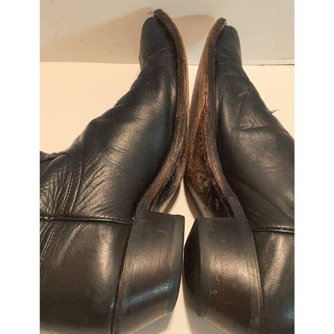 Justin Boots Black Boots/Booties Size US 8.5 Regular (M, B) Justin Boots Black Boots/Booties Size US 8.5 Regular (M, B) Image 5