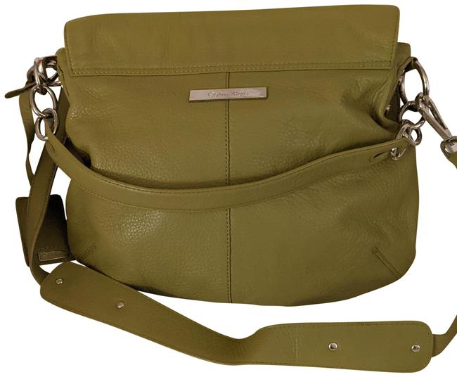 Item - Bag Green Leather Tote
