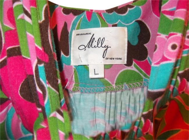 MILLY short dress Multicolored on Tradesy