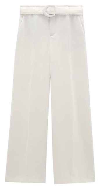 Item - White Belted Pants Size 16 (XL, Plus 0x)
