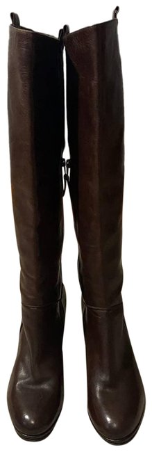 Item - Brown Tall Leather Boots/Booties Size EU 35.5 (Approx. US 5.5) Regular (M, B)