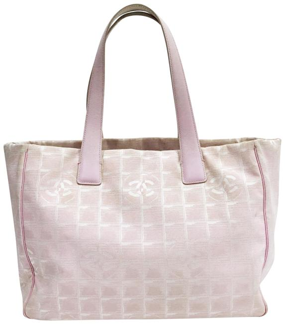 Item - Bag Light Travel Line Pink Nylon Tote