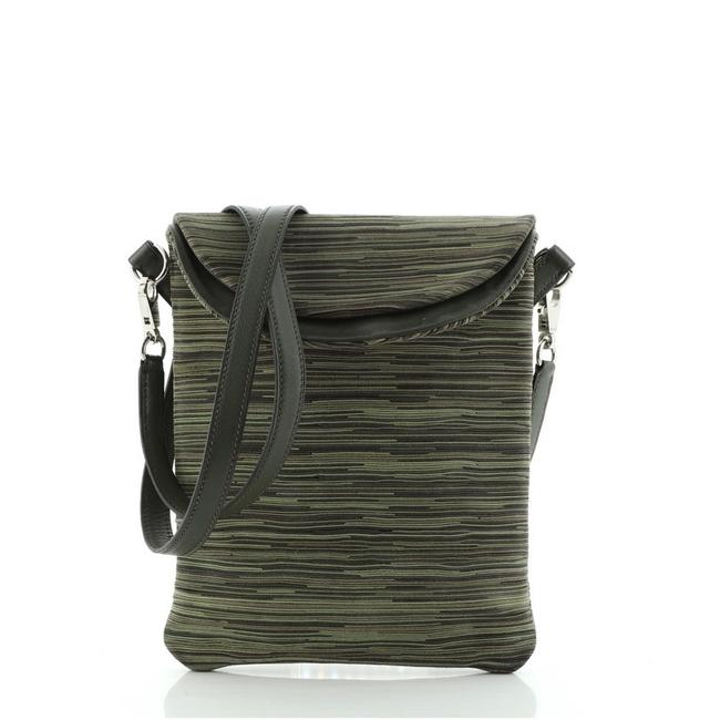 Item - Pillow Vibrato And Green Leather Cross Body Bag