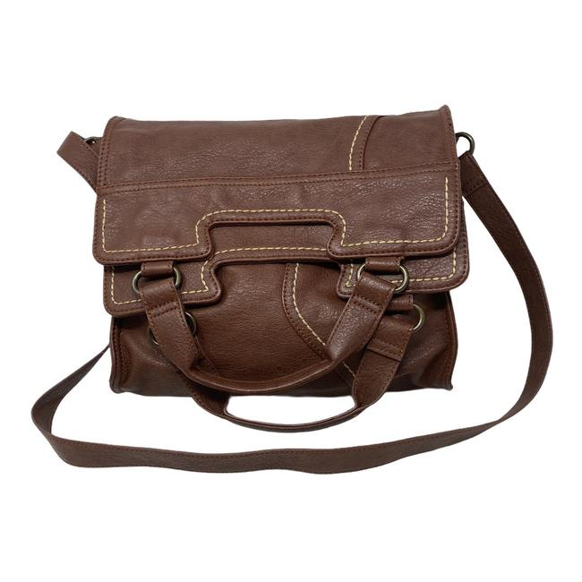 Item - Bag Abbey Road Fold Over Brown Tote