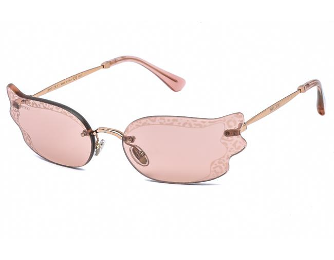 Item - Gold Nude Ember/S-0bku 2s / Pink Flash Silver Sunglasses