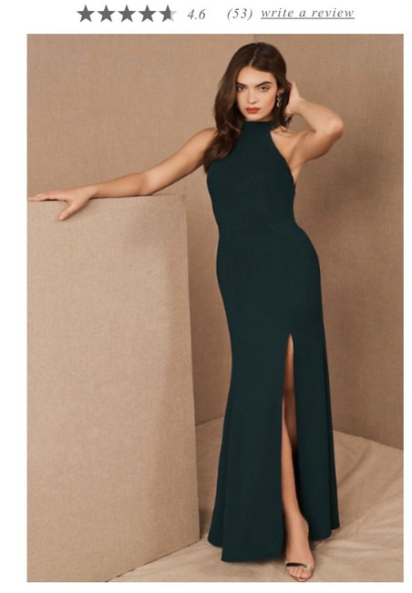 Item - Emerald Green Montreal Formal Bridesmaid/Mob Dress Size 4 (S)