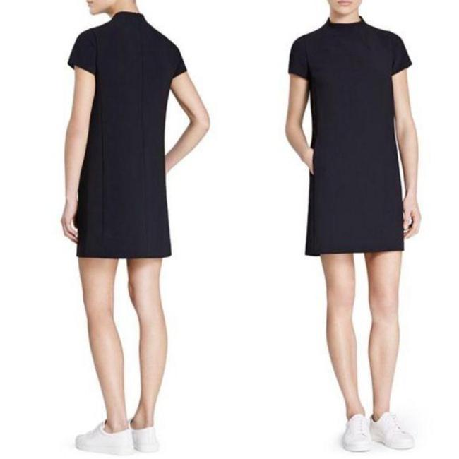Item - Blue Jasneah Admiral Crepe Mini Navy Short Work/Office Dress Size 00 (XXS)