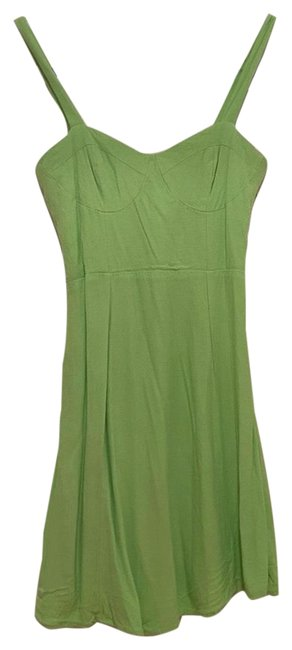 Item - Neon Green Short Casual Dress Size 4 (S)