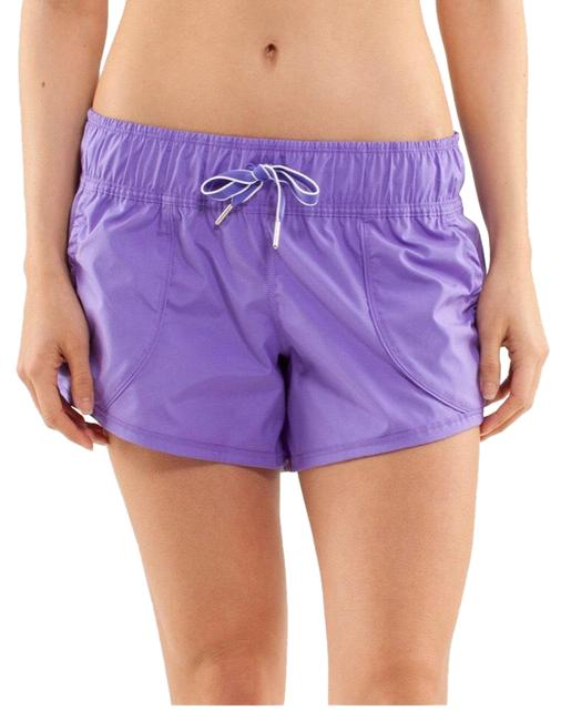 Item - Purple Work It Out Activewear Bottoms Size 6 (S)