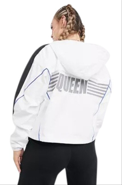 Item - White XS Queen Reflective Royal Style New Jacket Size 2 (XS)