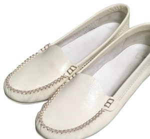 Jil Sander Winter White Flats