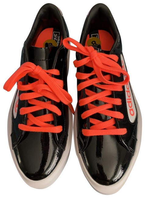 Item - Black/Orange Neon Ef4954 Sneakers Size US 8 Regular (M, B)