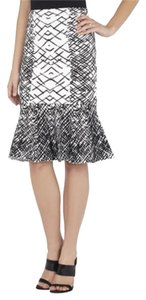 BCBG Max Azria Skirt Black & White