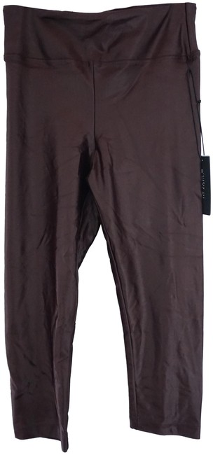 Item - Maroon Red Los Angeles Infinity Cropped 3/4 Activewear Bottoms Size 8 (M, 29, 30)