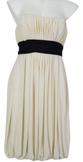 Item - Ivory Angelique Strapless Short Cocktail Dress Size 4 (S)