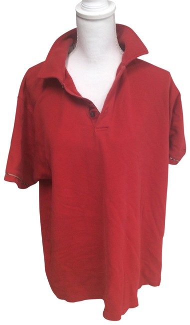 Item - Red Golf Button-down Top Size 14 (L)