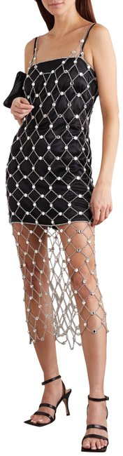 Item - Silver Metal Spring 2020 Mid-length Night Out Dress Size 0 (XS)