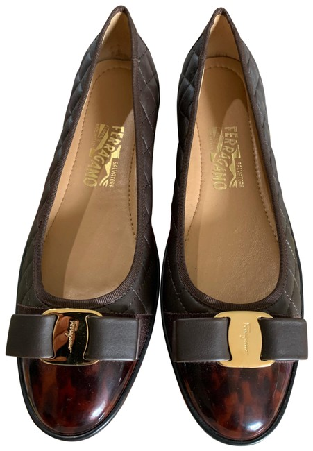 Item - Brown Ballerina Europe Flats Size US 9 Wide (C, D)