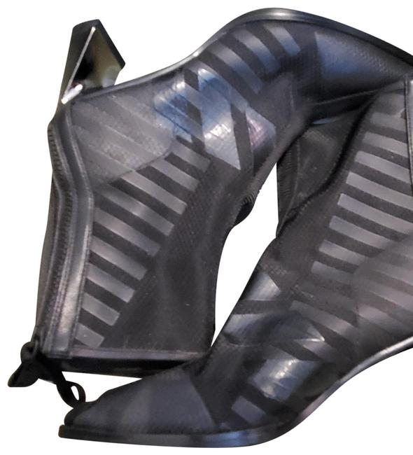 Item - Black Molten Calli Mid Mesh and Leather Boots/Booties Size EU 39 (Approx. US 9) Narrow (Aa, N)
