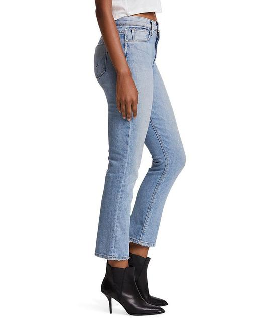 Item - Light Wash Holly Cropped High Rise Boot Cut Jeans Size 8 (M, 29, 30)