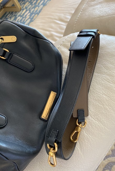 Marc by Marc Jacobs Black Leather Cross Body Bag Marc by Marc Jacobs Black Leather Cross Body Bag Image 8